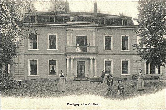 Le ch teau de cartigny 1720 2014 notre histoire for Alexandre freytag