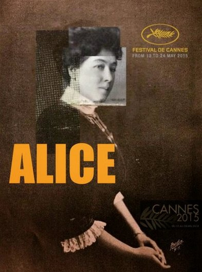 Alice Guy à Canne affiche