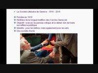 HENCHOZ Gilbert - La Société Littéraire de Genève fête son bicentenaire
