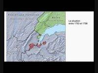 BARBIER Claude - L'évolution de la carte de Genève, entre 1792 et 1816, au niveau des Communes
