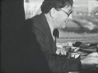 Marcel Poncet et Victor Desarzens accompagnent H. Louis Mermod éditeur